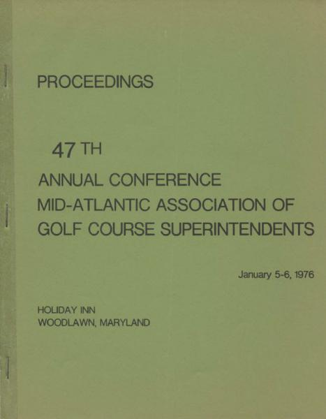 Mid-Atlantic Turf Conference