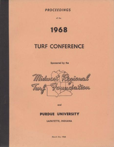 Proceedings of the Midwest Regional Turf Conference